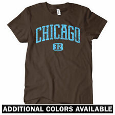 Chicago 312 Women's Tee - Windy City Bears Bulls Blackhawks Cubs Sox - S to 2XL