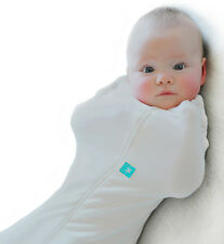 ERGO COCOON BABY SWADDLE - NATURAL - ZIP UP ERGO POUCH WRAP - 0.2TOG ORGANIC