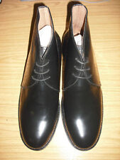 BLACK LEATHER GEORGE BOOTS FOR MESS DRESS FUNCTIONS LEATHER INSOLES AND OUTSOLES