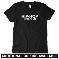 HIP-HOP SAVED MY LIFE Women's T-Shirt - Hip Hop Rap DJ Music Vinyl Records S-2XL