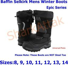 Baffin Selkirk Mens Winter Boots, Epic Series Sizes: 8 9 10 11 12 13 14