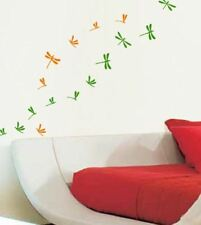 44 Dragonfly Wall Art Sticker Kid Decal 2 colours Bedroom Bathroom Kitchen Decor
