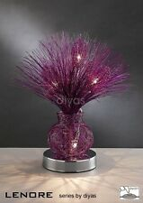 Decor Novelty Table Lamp in Various Colours - Lenore Collection by Diyas Home