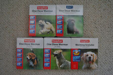 BEAPHAR DOG WORMER, WORMING GRANULES & TABLETS FOR PUPPIES - LARGE DOGS