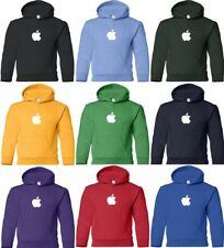 APPLE Hooded Sweatshirt Computer GEEK hoodie Mac logo OSX HOODY COOL