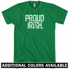 PROUD IRISH T-shirt - Ireland Dublin Cork Belfast Derry Galway - NEW XS-4XL