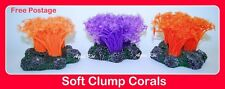 CC375 AQUARIUM FISH TANK MARINE REEF NEON CLUMP FLOWER CORAL CORALS ORNAMENT