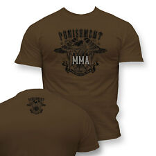 T-Shirt MMA PUNISHMENT - Ideal for Gym,Training,MMA Fighters,Sport,Casual wears!