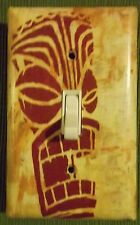 TIKI MAN HOME DECOR CUSTOM LIGHT SWITCH PLATE COVER