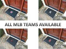 Brand New Heavy Duty Vinyl Rubber MLB Door Welcome Mat by Fanmats CUBS RED SOX