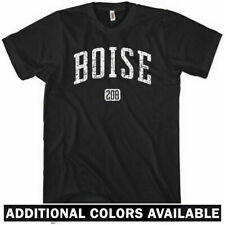BOISE 208 T-shirt - Area Code 208 Idaho Broncos State - NEW XS-4XL