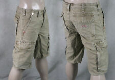 True Religion Jeans Men's ISAAC Cargo SHORTS Wheat brown MAR841EH