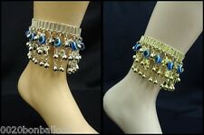 belly dance evil eye anklet coins ankel egyptian gypsy ethnic jewelry tribal 112