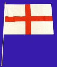 HAND WAVER FLAG - 12 IN A PACK  - ST ANDREW'S CROSS, IRELAND, ST GEORGE