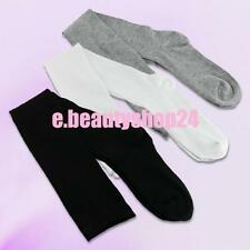 3 Colors Woman Cotton Opaque Thigh High Long Over Knee Stockings Socks