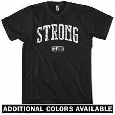 STRONG ISLAND T-shirt - Long Island New York City NY NYC LIRR - NEW XS-4XL