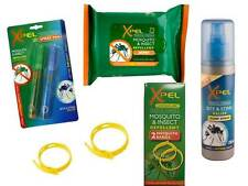 Xpel Mosquito & Insect Repellent Bands Spray Wipes Bite & Sting Relief **OFFER**