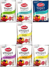 Easiyo Yogurt LOW FAT Mixes Pick N' Mix 7 Delicious Flavours to Choose From