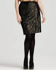 Jones New York Collection Lace Skirt Black  NWT $149