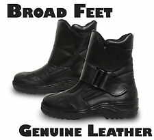 Leather motorcycle boots for men/womens *Comfortable*Casual* Road Bike/Motorbike