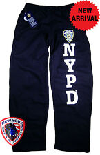 NYPD Sweatpants Navy Blue Officially Licensed by The New York City Police Dep