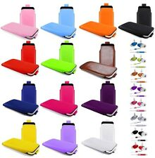 L- PULL TAB POUCH CASE COVER + HANDS FREE HEADSET fOr Samsung Galaxy S2 i9100