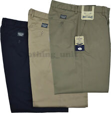 T1 Mens Chino Trouser Expand-A-Band Self Adjusting Waist Casual
