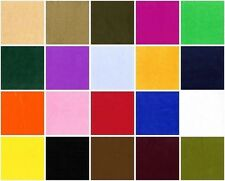 VELBOA FABRIC BY THE YARD SOLID FAUX FUR IN 20 COLORS 60 INCHES WIDE