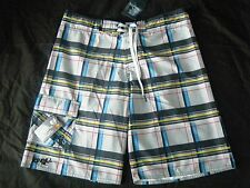 Brand new with Tags O'Neill Chex Boards Surf board beach shorts grey M S £45
