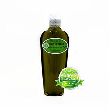 PURE ORGANIC HEMP SEED OIL UNREFINED RAW VIRGIN COLD PRESSED  2 OZ - 1 GALLON