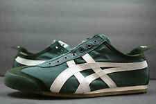 New! Asics OnitsukaTiger Mexico 66!! HUNTER GREEN-WHIITE!UNISEX SHOE! 7.5 TO 13!
