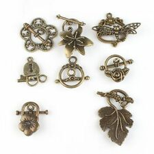 Charms Wholesale Vintage Bronze Alloy Toggle Clasp Jewelry Findings