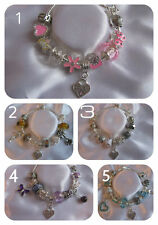 LADIES AND CHILDRENS COUSIN CHARM BRACELET AND CHARMS IN GIFT BAG- 3 SIZES