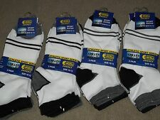men athletic cotton blend Excell low cut ankle sock size 10-13 shoe size 8-12