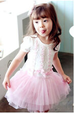 Lovely Girl's Dress Skirt Spring Summer Wear Kids Children's Clothes,Age 2-10yrs