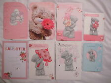 BIRTHDAY CARD DAUGHTER  ME TO YOU TATTY TEDDY SEW GOOD CARTE BLANCHE CUTE