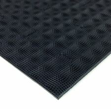 "1 Sheet Vibram Rubber "" CHERRY "" 4mm/6mm thick 35""x11"""