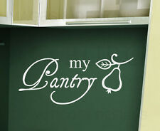 Wall Sticker Decal Quote Vinyl Art Lettering Decorative My Pantry Kitchen KI12