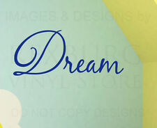 Wall Decal Sticker Quote Vinyl Art Removable Lettering Decorative Dream IN19