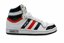 Kids Cheap Adidas Original Top Ten Hi White/Navy/Red UK12.5-1.5 £28 FREE UK P&P