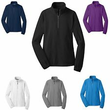 MICROFLEECE PULLOVER, 1/2 ZIP, ANTI-PILL, LIGHTWEIGHT, 5 COLORS! XS-XL 2X 3X 4X