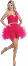 Fun Short Tutu Prom Sweet 16 Party Dress Special Occasion Formal Gown Homecoming