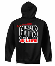 JUST RIDE GLAMIS SAND DUNES 4 LIFE HOODIE SWEAT SHIRT RAIL CAR OFF ROAD DUNE ATV