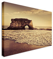 Quiet Ibiza Beach Canvas Prints Wall Art Picture Large Any Size