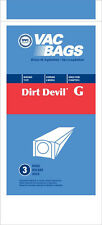 Type G Vacuum Bag fits DIRT DEVIL HAND VAC style G