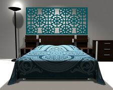 Wall Decal Geometric Headboard Star Snowflake Shabby Chic Dorm Decor Abstract