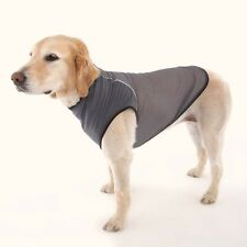 Doggles Dog Insect Shield Repellent Ticks, Flies, Mosquitoes T- Shirt Gray