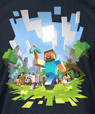 Minecraft Adventure T- Shirt NEW!!  Licensed Gamer Official