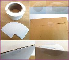 Gloss Clear Transparent Seal Labels , Removable Low Tack Self-Adhesive Stickers