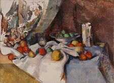 Still Life With Apples Paul Cezanne 1898 Art Photo/Poster Repro Print Many Size